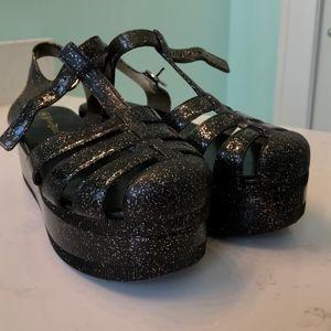 Jelly Platform Shoes